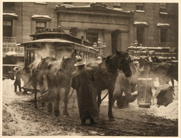 Alfred Stieglitz- The Terminal- 1893- Pictorialism- Matthews Gallery Blog