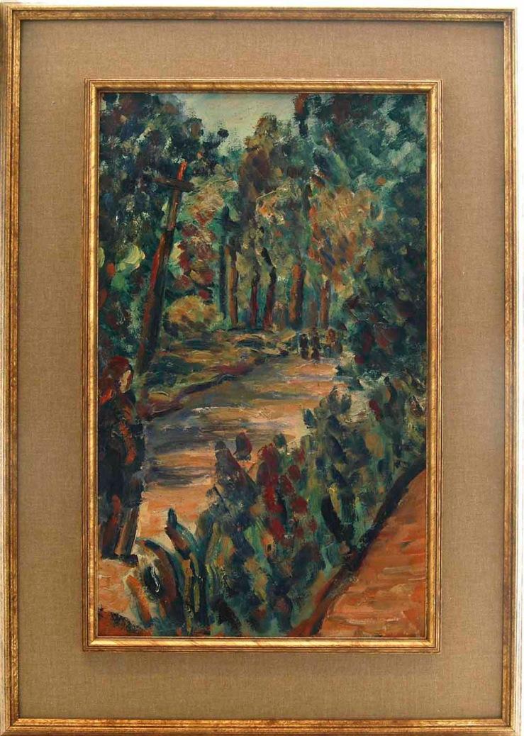 Alfred Morang- Untitled Landscape- Matthews Gallery Blog