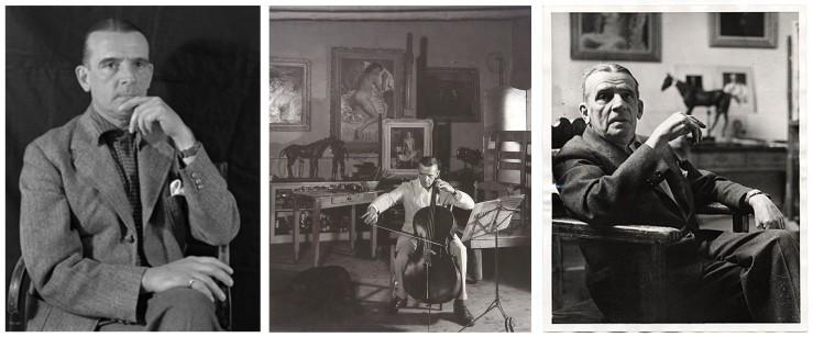Portraits of Santa Fe Artist Randall Davey- Matthews Gallery Blog