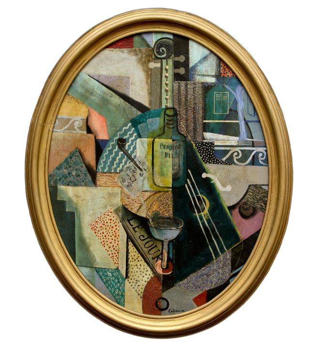 Jaime Colson- Cubist Still Life- Matthews Gallery Blog
