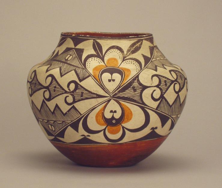 Acoma Polychrome Olla- Matthews Gallery Blog
