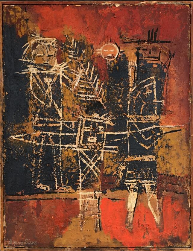 Agnes Sims- Petroglyph- Matthews Gallery Blog