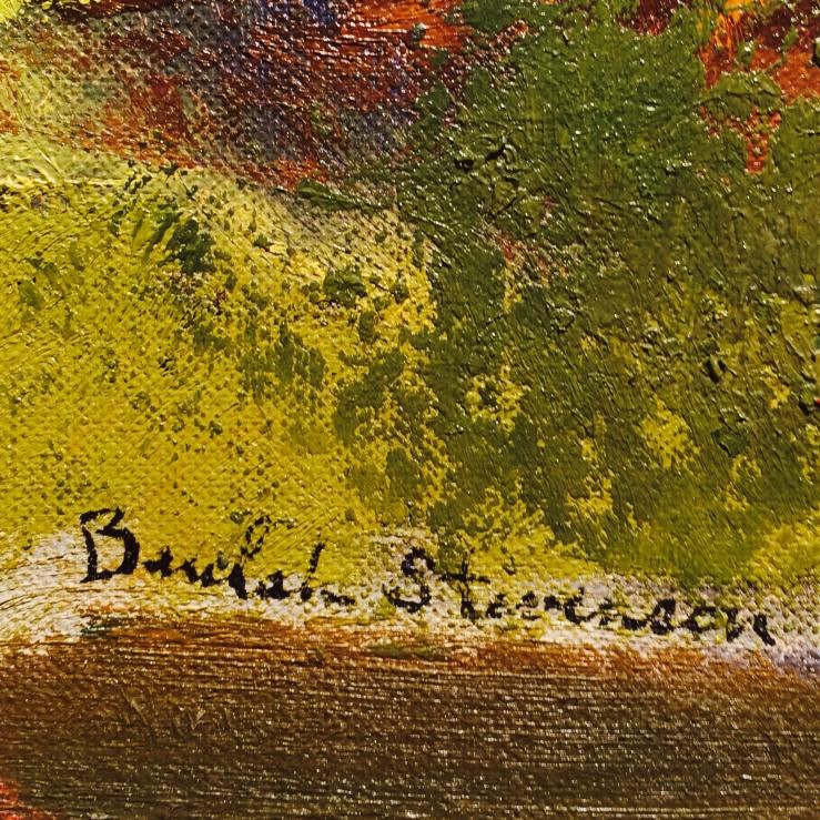 Beulah Stevenson- Signature Detail- Matthews Gallery