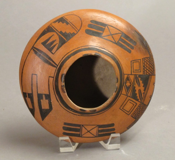 Nampeyo- Black on Red Hopi Seed Jar, c. 1900- Matthews Gallery Blog