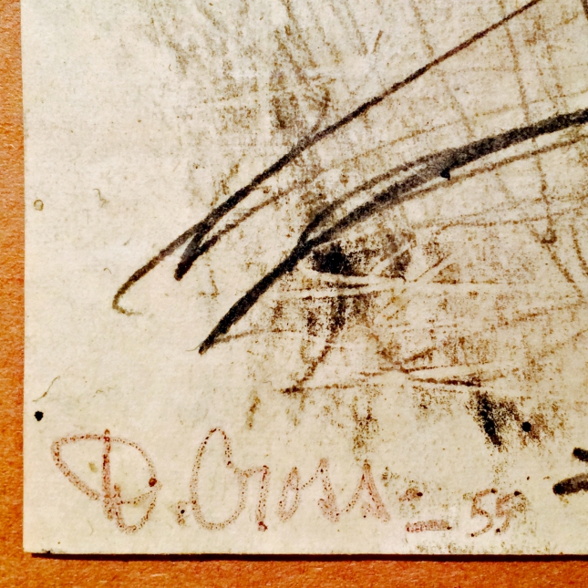 Doris Cross- Signature Detail- Matthews Gallery Blog