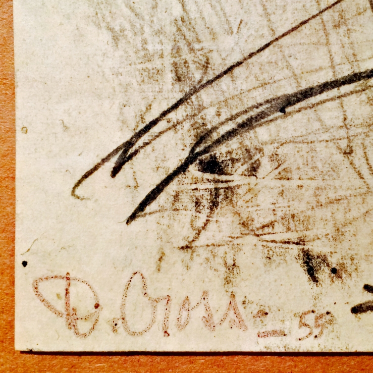Doris Cross- Signature Detail- Matthews Gallery Blog