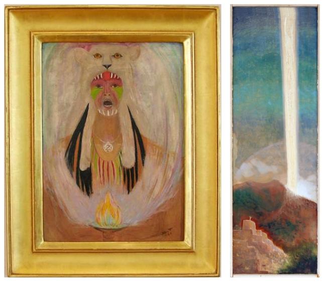 Dorothy-Brett-Artist-Matthews-Gallery