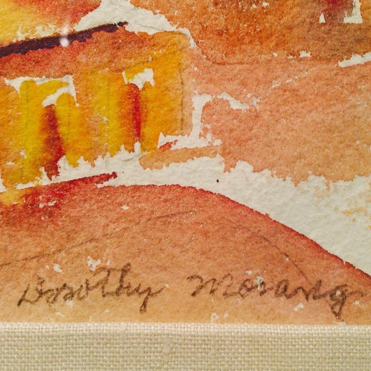 Dorothy Morang- Signature Detail- Matthews Gallery Blog