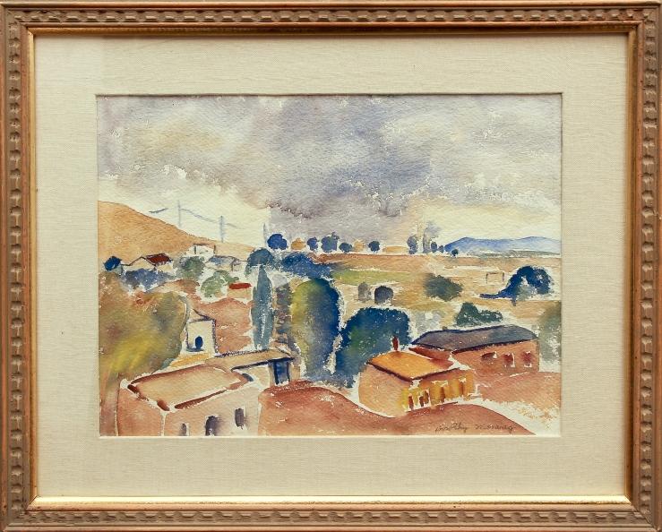 Dorothy Morang- Summer Storm- Matthews Gallery blog