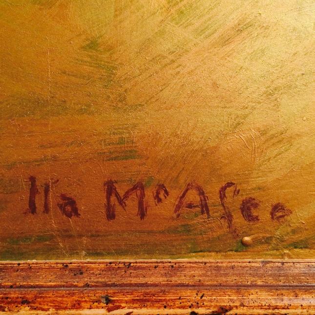 Ila McAfee- Artwork Detail- Matthews Gallery Blog