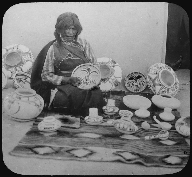 Nampeyo- Hopi Potter- Matthews Gallery Blog