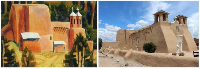 Alice Webb- San Francisco de Assissi Mission Church in Taos- Matthews Gallery Blog