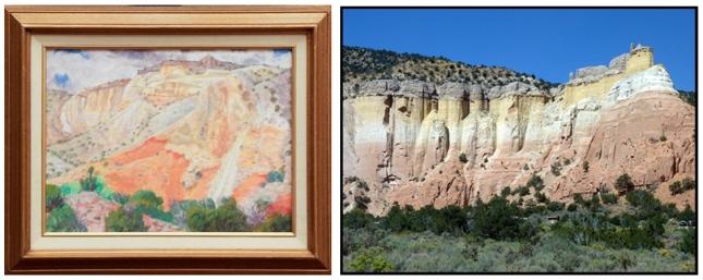 Eli Levin- Abiquiu Landscape- Matthews Gallery Blog