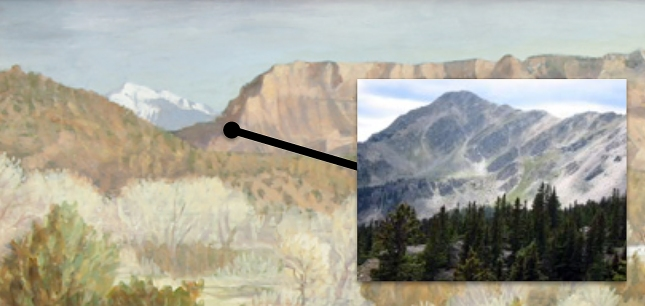 Eli Levin- View of Truchas Peak- Matthews Gallery blog