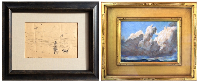 Maynard Dixon and Fremont Ellis- New Mexico Artists- Matthews Gallery Blog