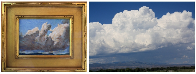 Maynard Dixon- New Mexico clouds- Matthews Gallery Blog
