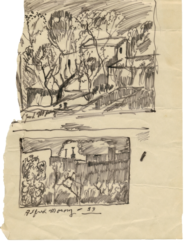 Alfred Morang- Sketchbook Teaching Notes- Matthews Gallery Blog