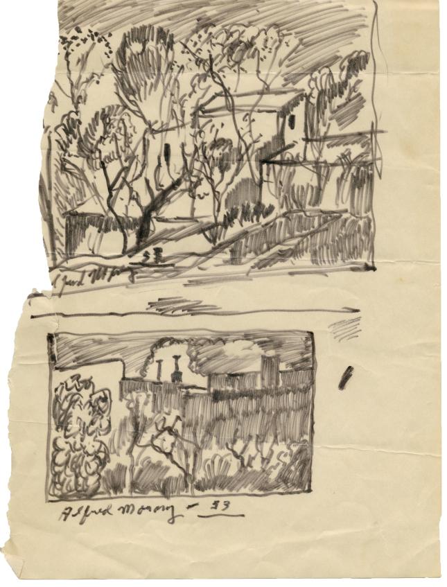 Alfred Morang- Sketchbook Teaching Notes- Matthews Gallery Blog