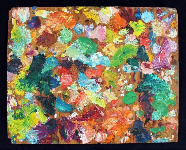 Tommy Macaione- Paint Palette- Matthews Gallery Blog