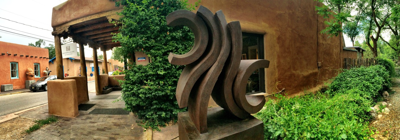 Frank Morbillo Sculpture- Matthews Gallery- Santa Fe New Mexico