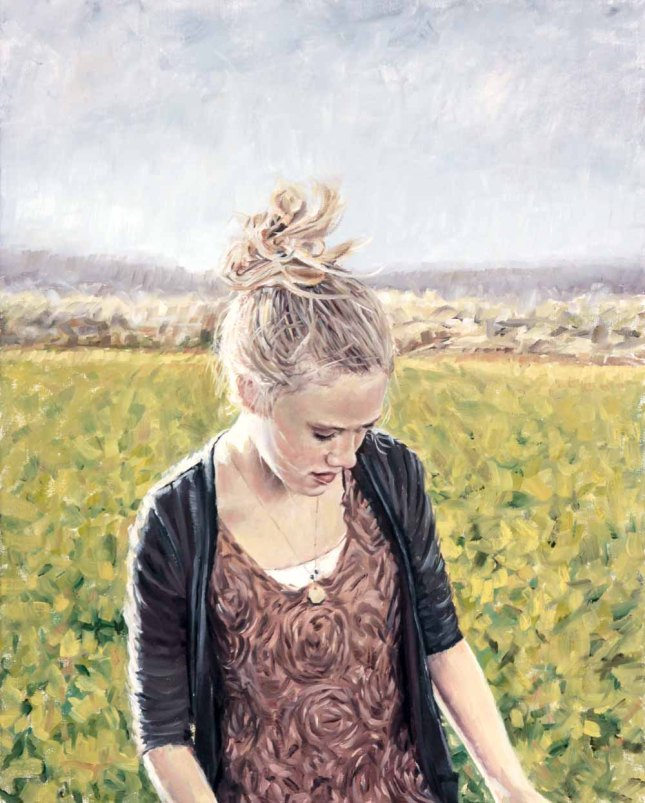 Eric Thompson- Grace- Oil on Linen- Matthews Gallery Blog