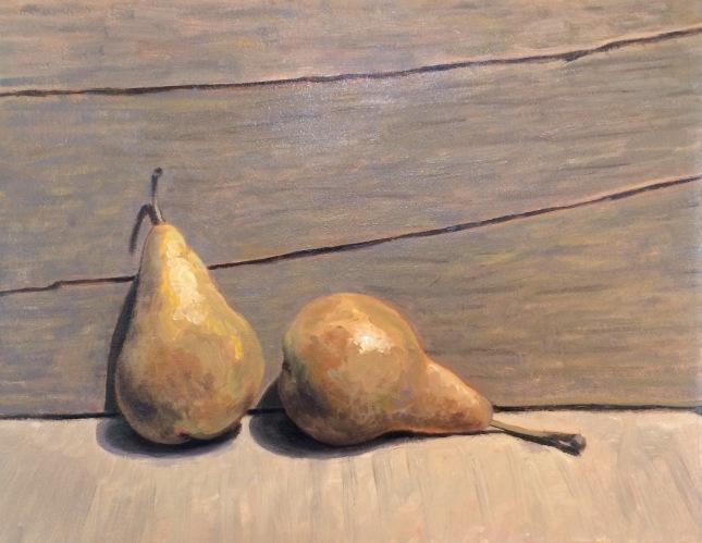 Eric Thompson- A Pair- Oil on Linen