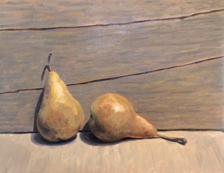 Eric Thompson- A Pair- Oil on Linen