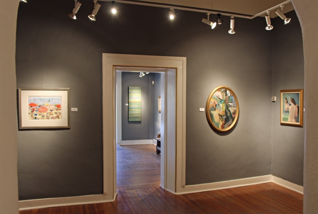 Matthews Gallery Interior- Fall of Modernism
